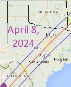USA 2024 Total Eclipse